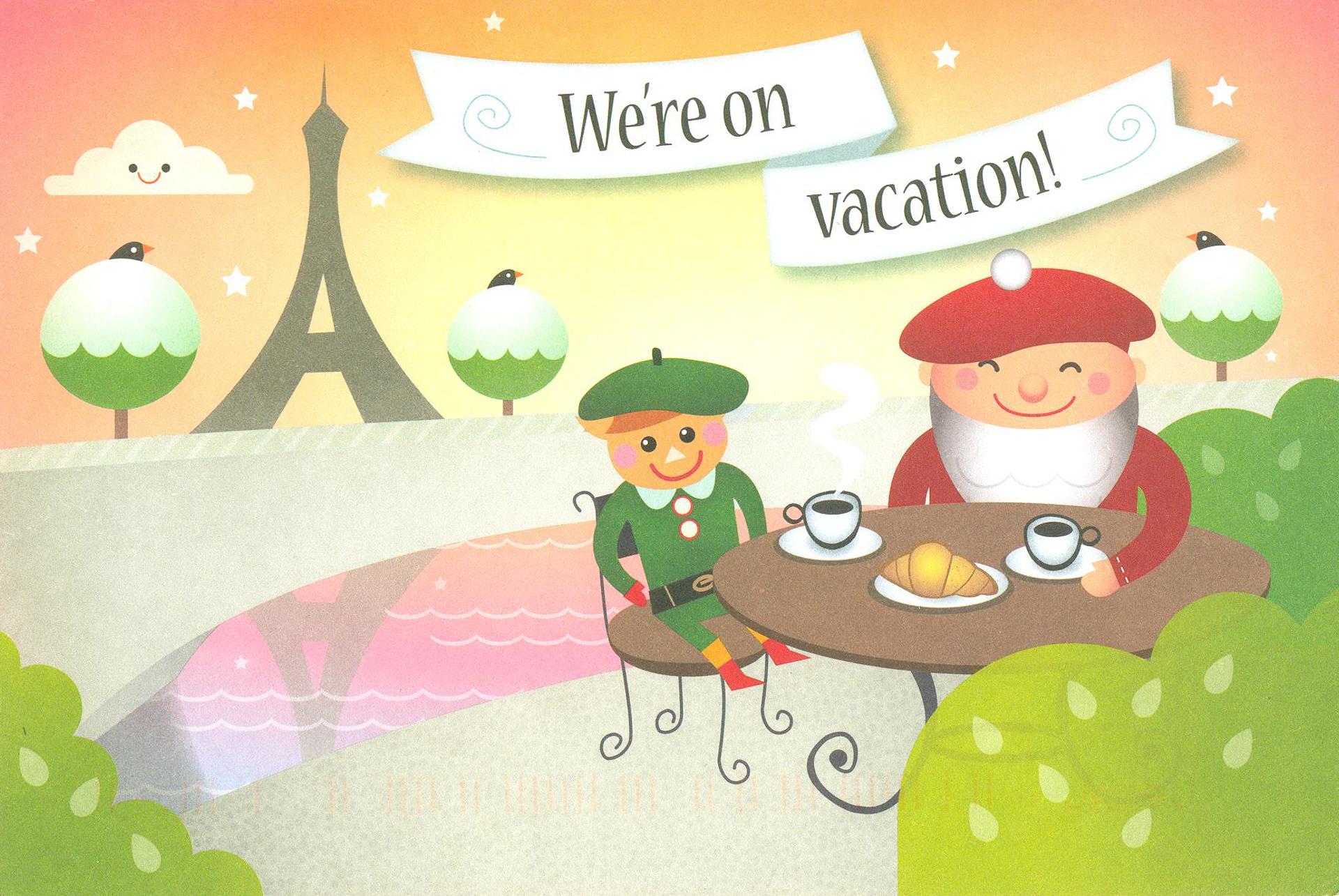 Дед Мороз на каникулах